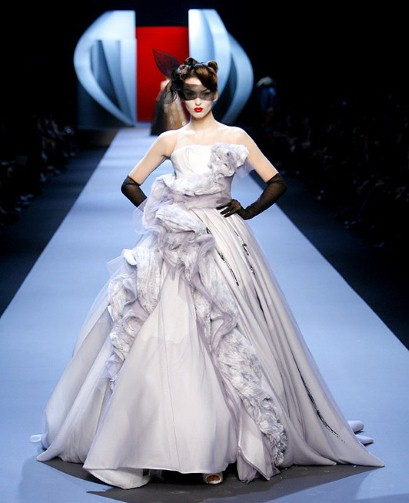 John Galliano Wedding Dress