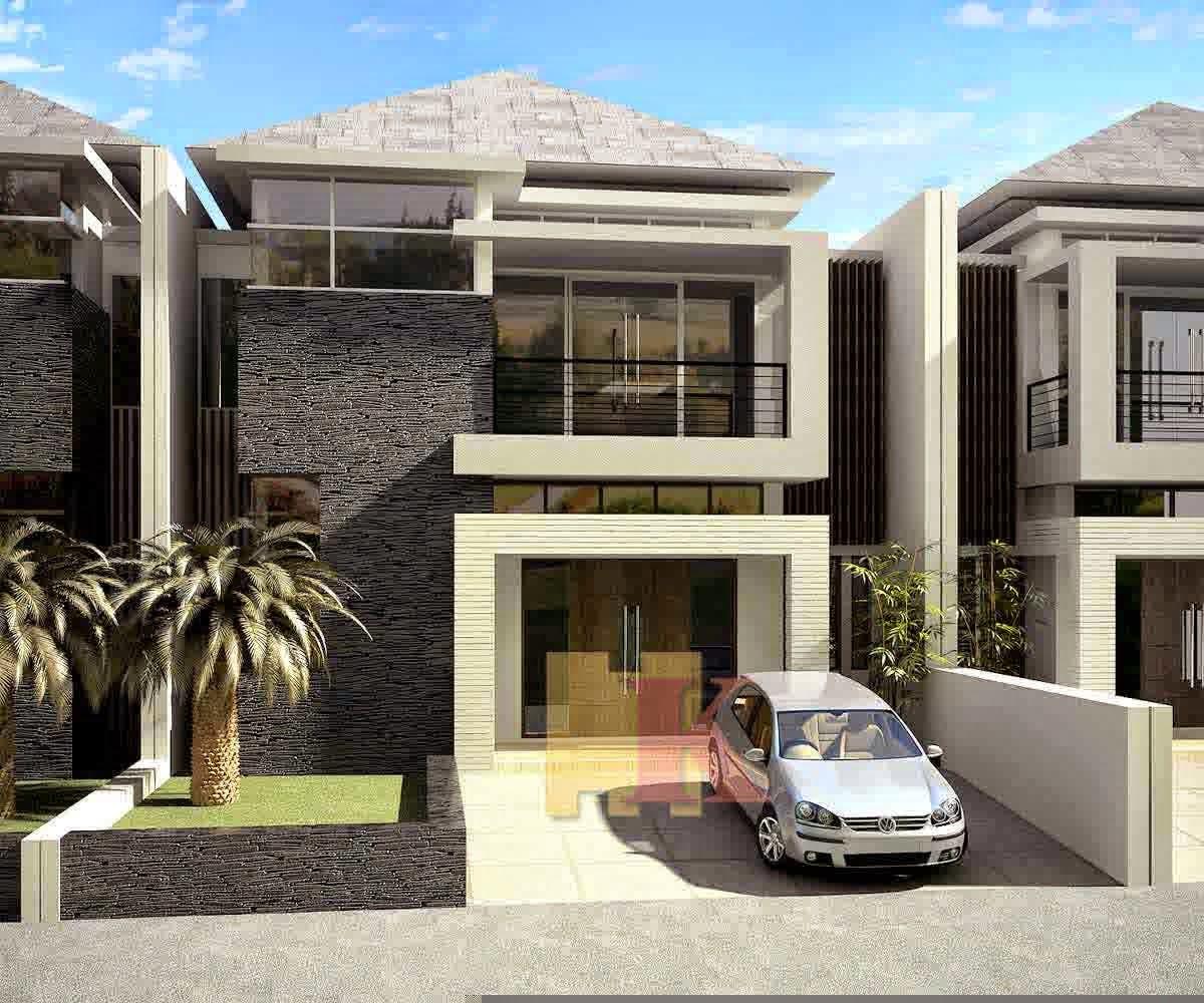 Gambar Desain Rumah Modern Minimalis Futuristic