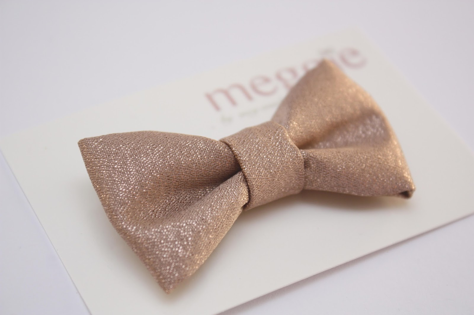 meg-made: Etsy update Rose Gold Bow