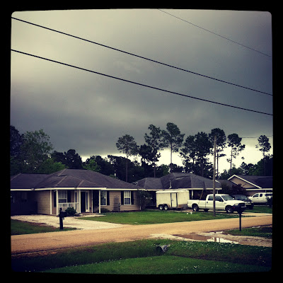 Louisiana Weather_Storm Rolling In_Scary