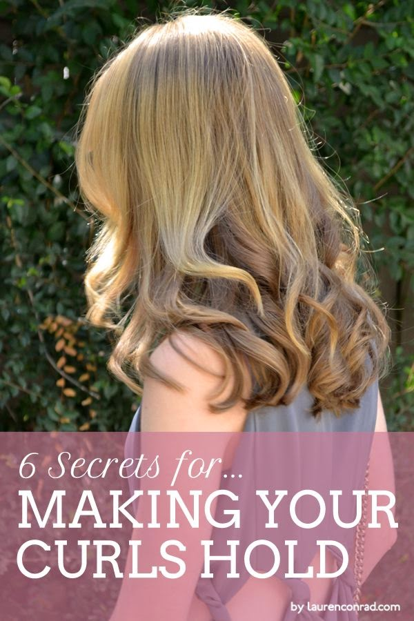 How to Make Your Curls Hold