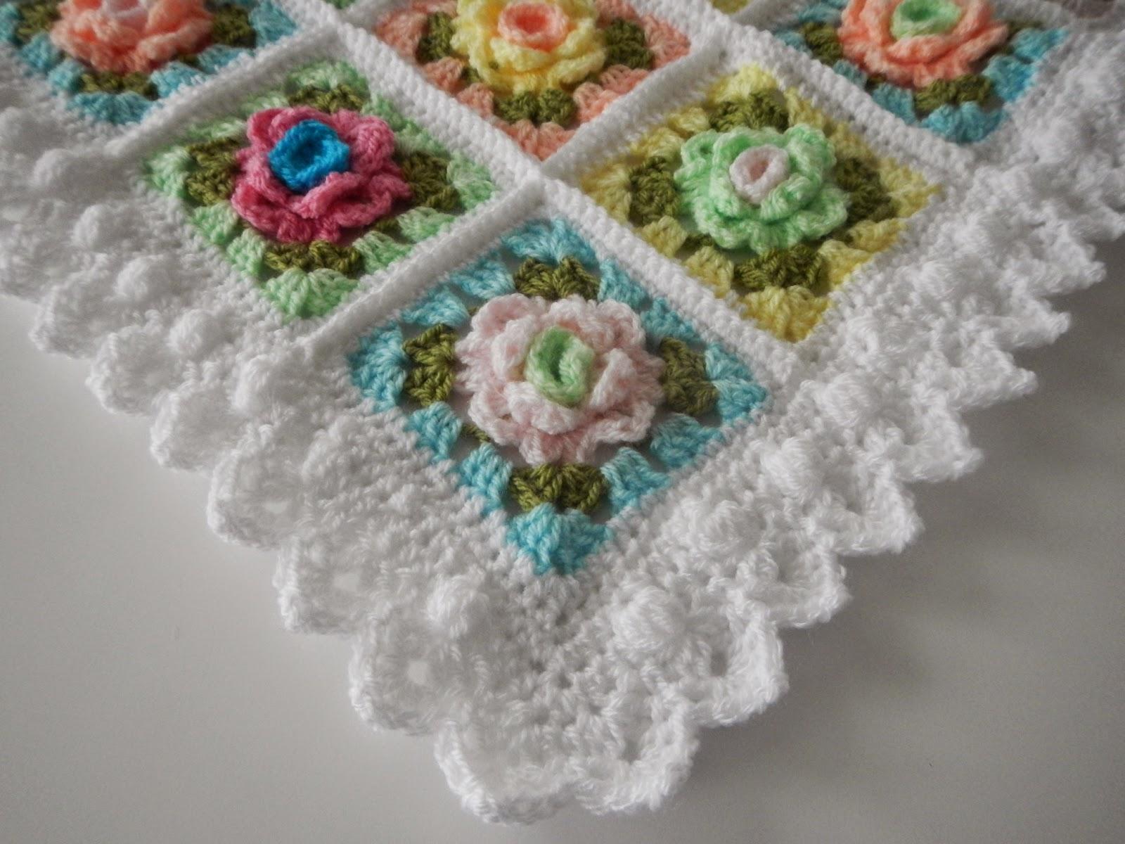Apple Blossom Dreams: WEEK 5 - Granny Rose CAL: The Edge/Border