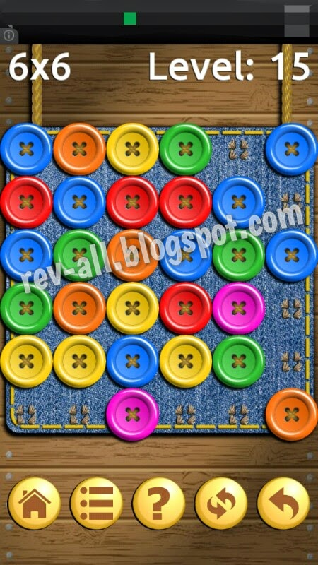Contoh permainan - review game android Buttons & Scissors oleh rev-all.blogspot.com