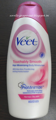 Veet Hair Minimizing Body Moisturizer