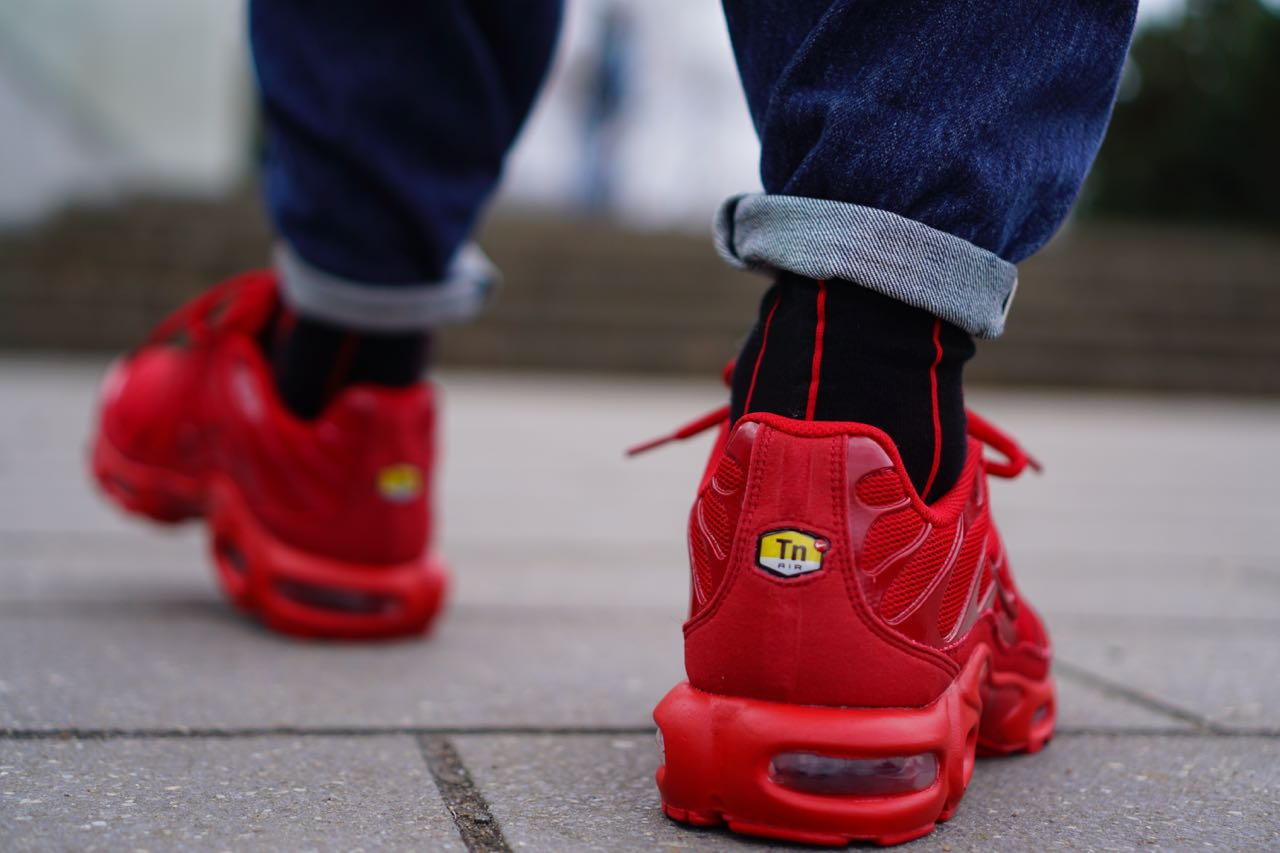 Nike Air Max Plus Accordé 1 Lave Porsche Rouge