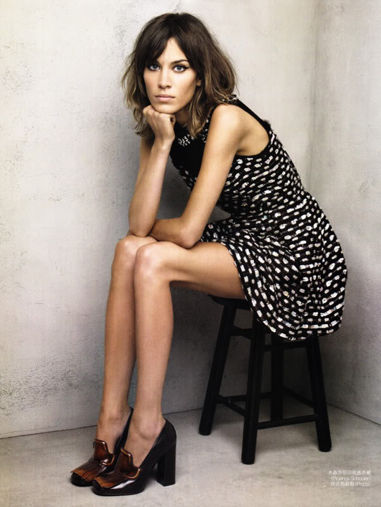 Alexa Chung Hair Color 8
