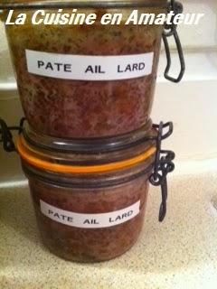 La cuisine en amateur de maryline p t de porc maison - Pate de porc maison ...