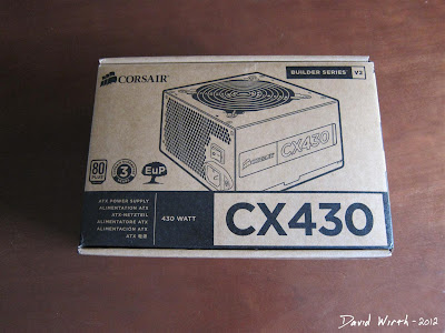 Corsair CX430 Power Supply
