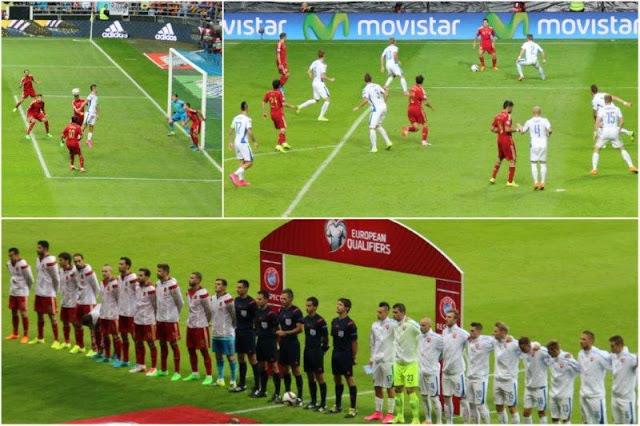 Partido de clasificación para la Eurocopa 2016 Espana Eslovaquia en Oviedo – Alineacion Equipos Espana y Eslovaquia