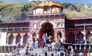 Shri Badrinath ji temple in Uttarakhand