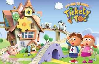 Tickety Toc Çizgi Filmi Yeni Oyunu