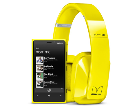 Nokia Lumia 920 headphone