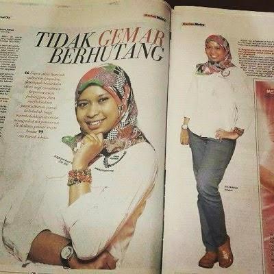 Biodata Kiki Kamaruddin Gadis Peugeot Putih CDM25