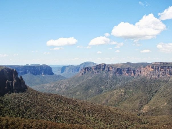 Blue Mountains, Australia, vista, Sydney