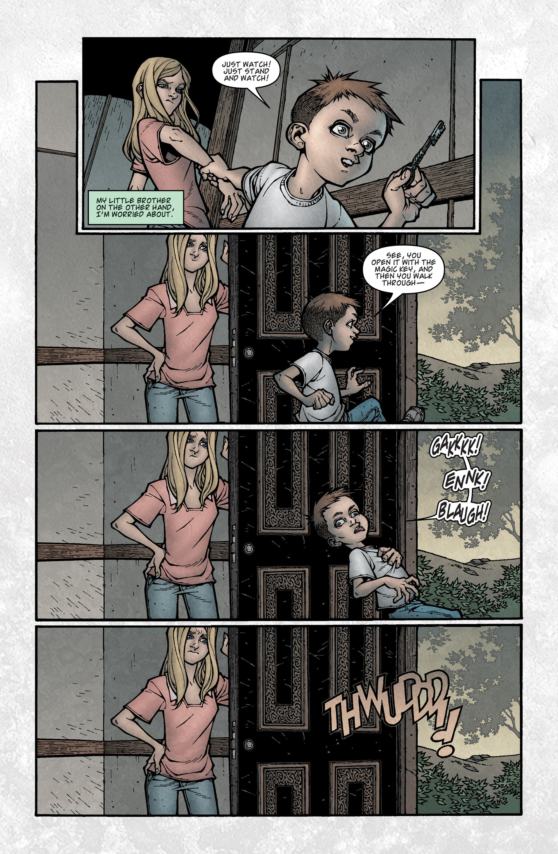 Locke & Key (2008) Issue #3 #3 - English 12
