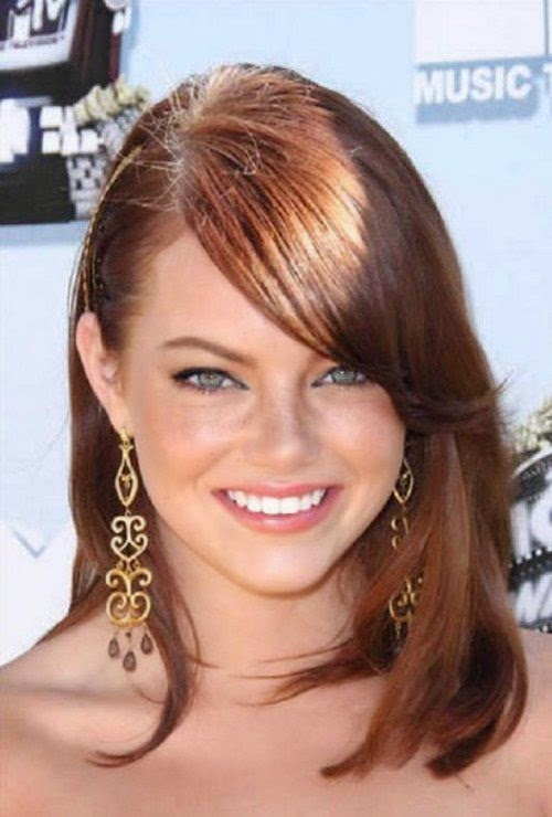 Medium Brunette Hairstyles 2014