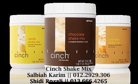 cinch shake shaklee untuk mengawal berat wanita hamil