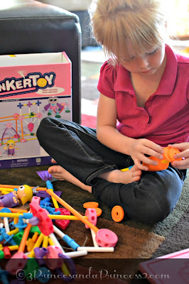 TINKERTOYS from the #KNEX family