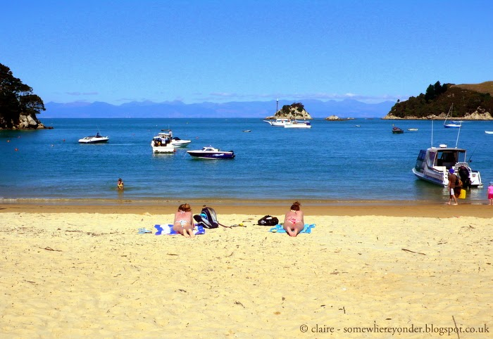 Tahunanui Beach in Summer - Nelson, New Zealand