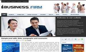 BusinessFirm Blogger Template