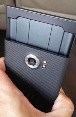 Ainda mais fotos e suspense do Blackberry Venice Android