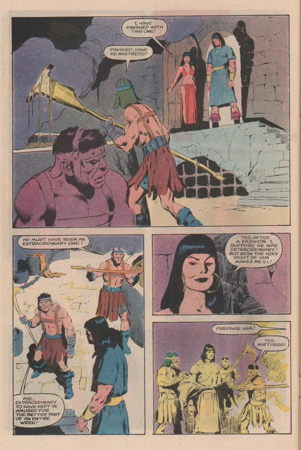 Conan the Barbarian (1970) Issue #159 #171 - English 17