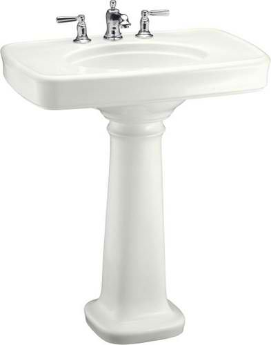 Bancroft Pedestal Sink : chose this kohler bancroft pedestal sink that i found