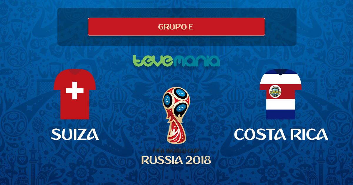 Suiza asegura un cupo al empatar a 2 goles contra Costa Rica
