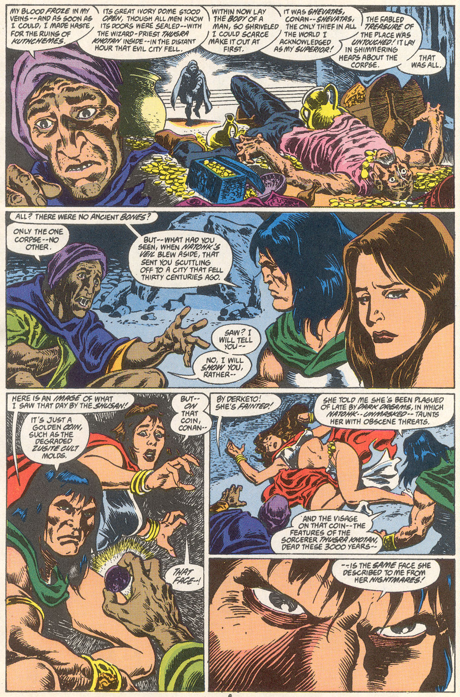 Conan the Barbarian (1970) Issue #249 #261 - English 6