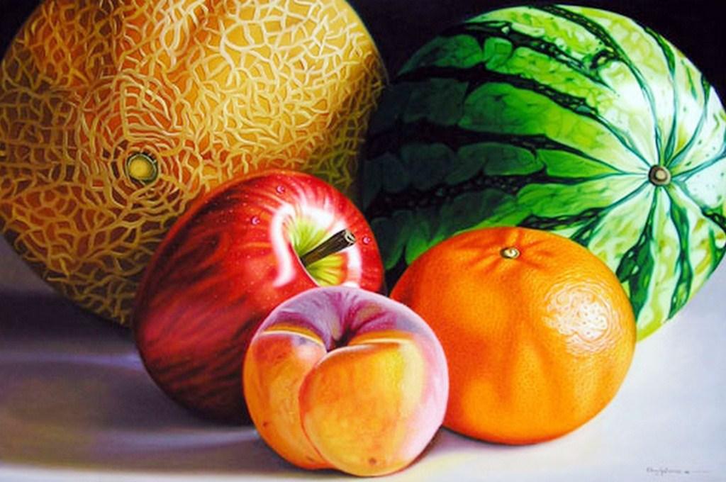 Im genes arte pinturas cuadros de bodegones de frutas - Fotos de bodegones de frutas ...