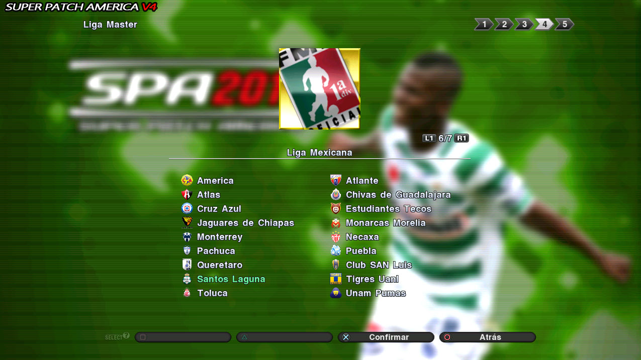 New patch pes 2011