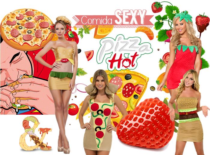 disfraz sexy comida