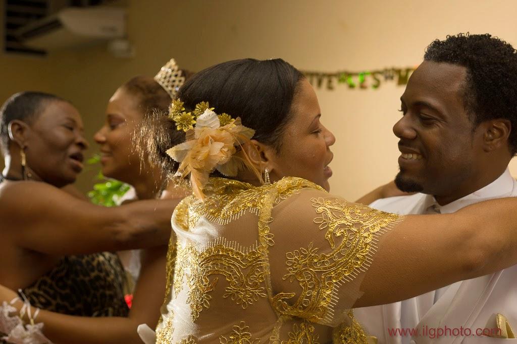 Mariage de Steffy et Manuel: réception, émotions