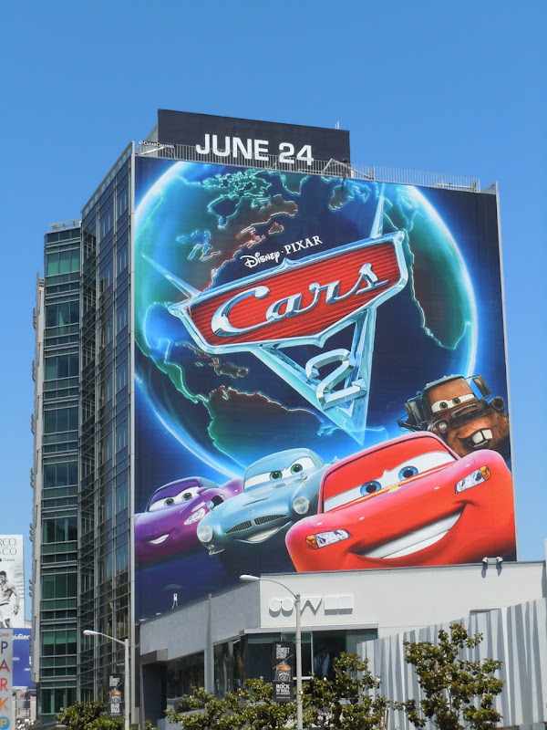 Giant Cars 2 movie billboard