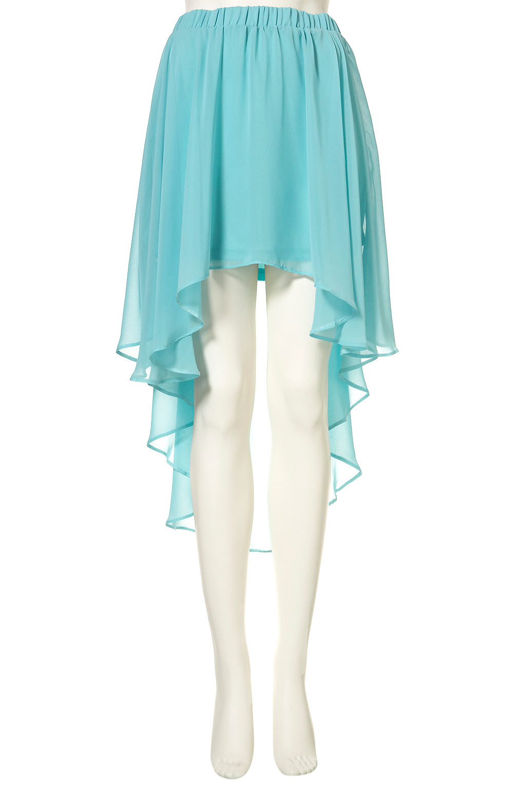 louise thompson mint green high low skirt made in chelsea