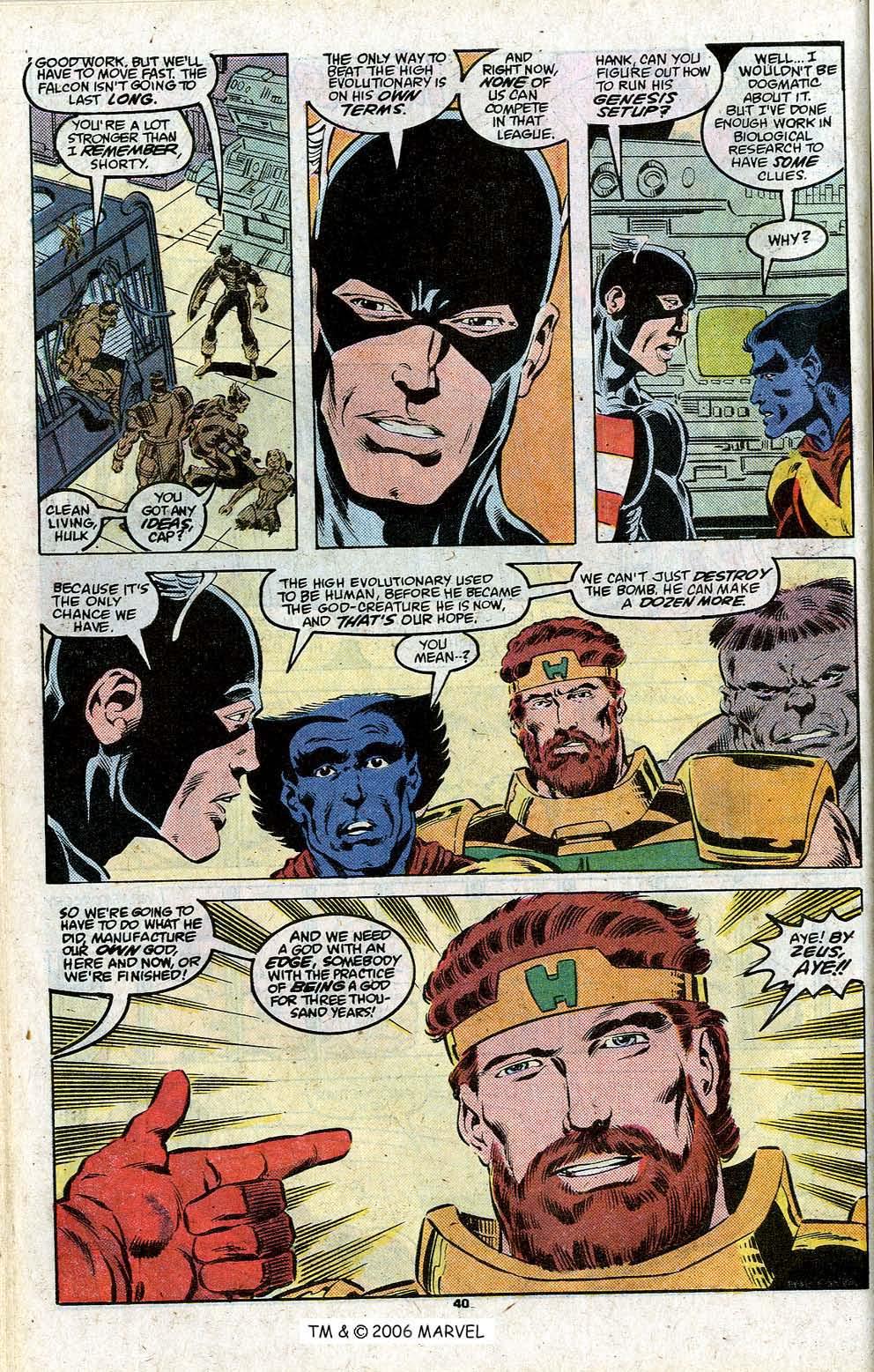 Captain America (1968) Issue #348c #280 - English 42