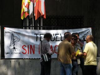 Fracking No Zaragoza Teruel sin Fractura