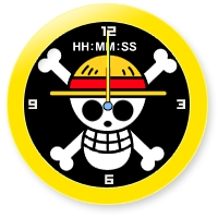 Widget Jam One Piece (Pirate Logo)