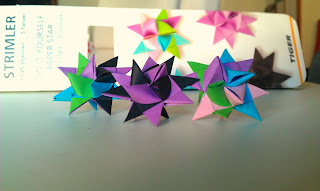 german paper star