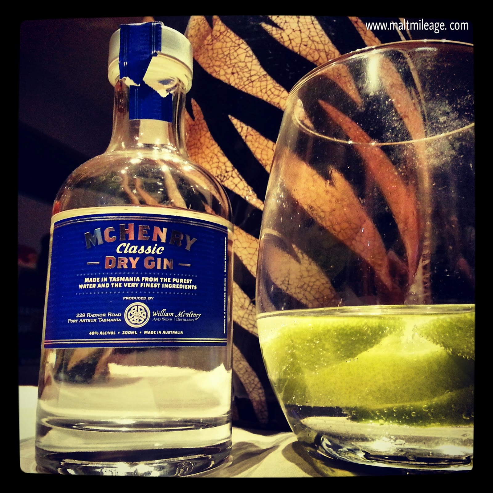 Malt mileage whisky spirit reviews mchenry classic for Best mix with gin