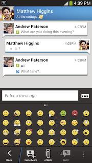 تحميل تطبيق ماسنجر بلاك بيري الرسمي BBM Android