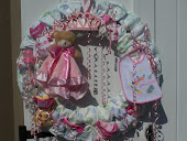 PRINCESS BABY DIAPER WREATHS