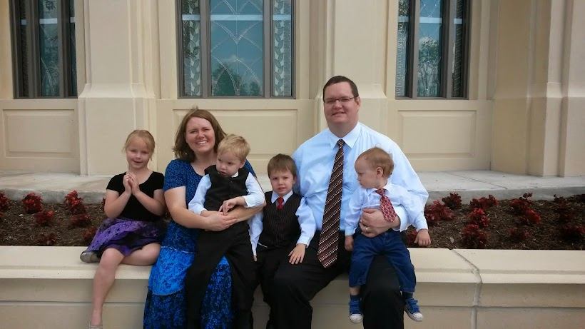 Weston and Heather Johnson Family