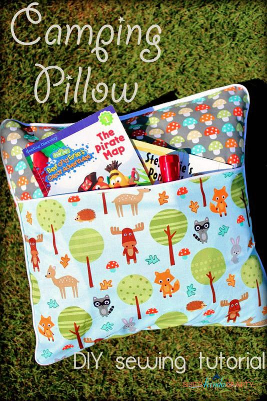 camping pillow tutorial ann kelle fabrics