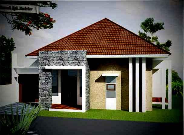 Contoh Gambar Rumah Sederhana  Desain Rumah Sederhana