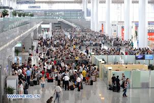 estación de trenes de alta velocidad Beijing