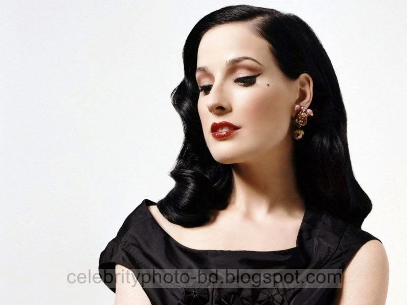 Dita+Von+Teese+Latest+Hot+Photos+With+Short+Biography014
