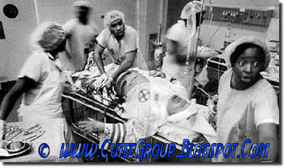 Black physicians treating a member of the Ku Kux Klan in the ER
