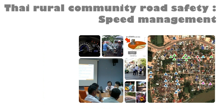 Thai rural community road safety : Speed management