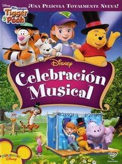 Mis Amigos Tigger y Pooh Celebracion Musical